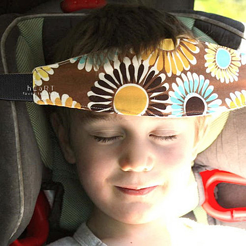 兒童安全座椅頭部固定輔助帶 頭部固定帶 打瞌睡帶 兒童安全帶