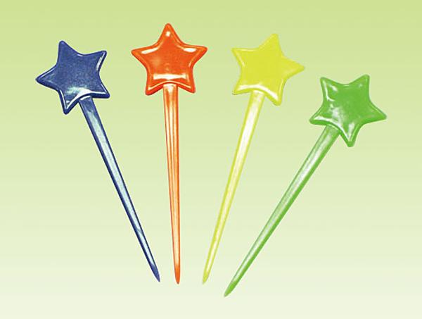 30入 星星造型【W021】小叉子 水果叉 食物叉