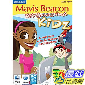 [106美國直購] 2017美國暢銷軟體 Mavis Beacon Keyboarding Kidz