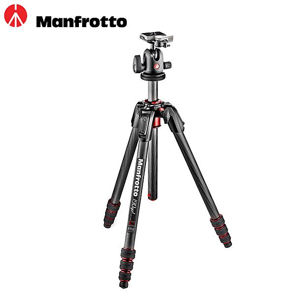 ◎相機專家◎ Manfrotto 190Go! MK190GOC4TB-BH 碳纖維四節腳架 球型雲台 送腳架袋 公司貨
