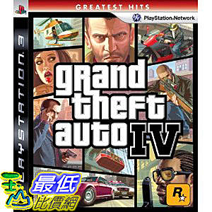 [美國直購 ShopUSA]Grand Theft Auto IV侠盗车手四:PS3 版遊戲 $1049