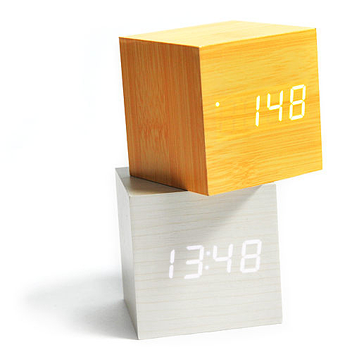 AWANA-方型木質時鐘(超值2入)