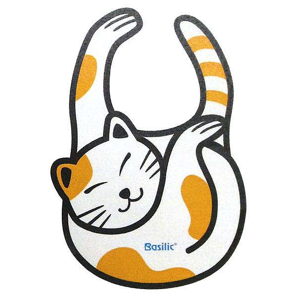 貝喜力克造型圍兜-貓【德芳保健藥妝】