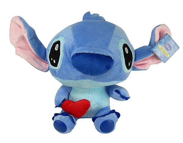 【卡漫城】 史迪奇 娃娃 抱愛心 紅色 約23cm ㊣版 絨毛 玩偶 擺飾 裝飾品 星際寶貝 Stitch