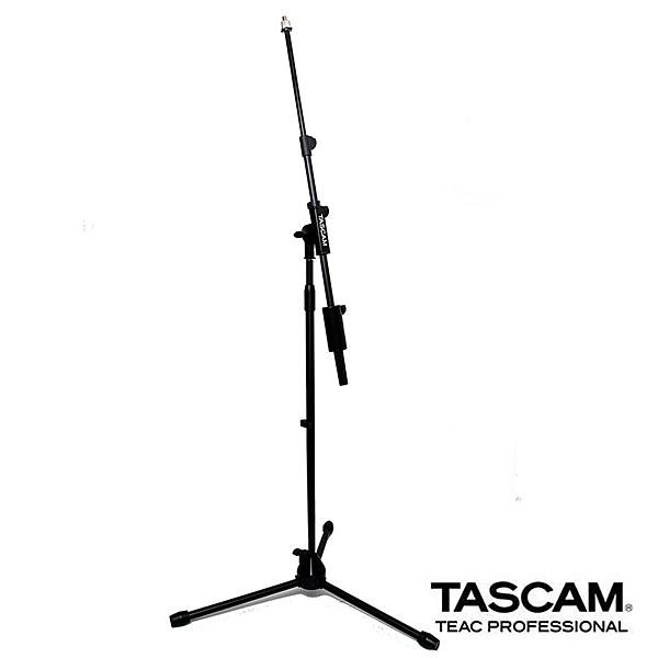 【EC數位】TASCAM 達斯冠 TM-AM1 落地式麥架 中軸可調 支架 麥克風架 MIC 演唱 收音 錄音 三腳架