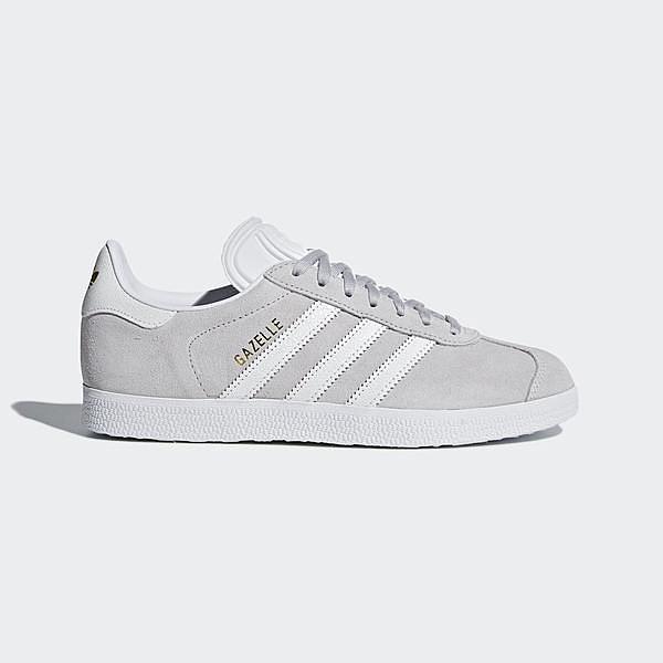 Adidas Originals Gazelle W [B41659] 女鞋 休閒 經典 復古 簡約 百搭 愛迪達 灰白