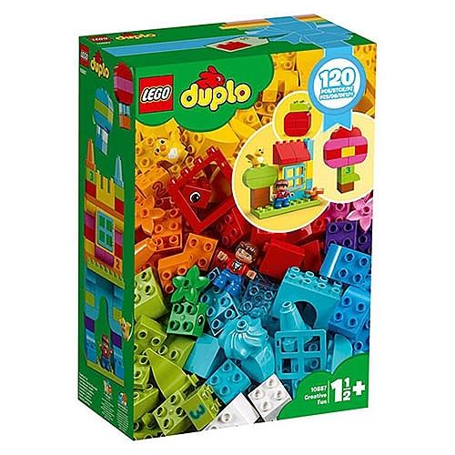 樂高 LEGO Duplo 幼兒系列  LT10887 歡樂創意顆粒套裝