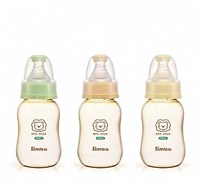 小獅王辛巴 PPSU葫蘆小奶瓶 150ml【德芳保健藥妝】(顏色採隨機出貨)
