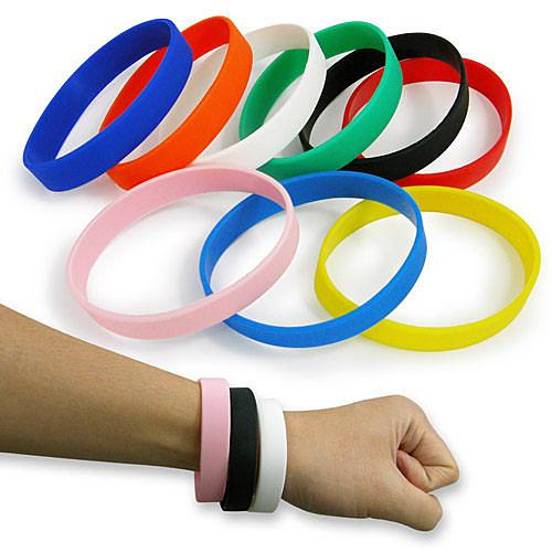 【客製化】 成人矽膠運動手環(50入) S1-18002  禮贈品 宣導品