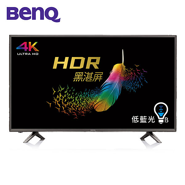BenQ 50吋 護眼 4K HDR 智慧連網液晶+視訊盒 50JR700~含拆箱定位+舊機回收