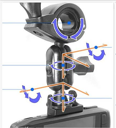 DOD LS370 Ls360 LS430 vico DS2 DS1 GV6330 DOD LS330W LS360 WFDV-808飛來訊免吸盤後視鏡支架車架子行車紀錄器支架