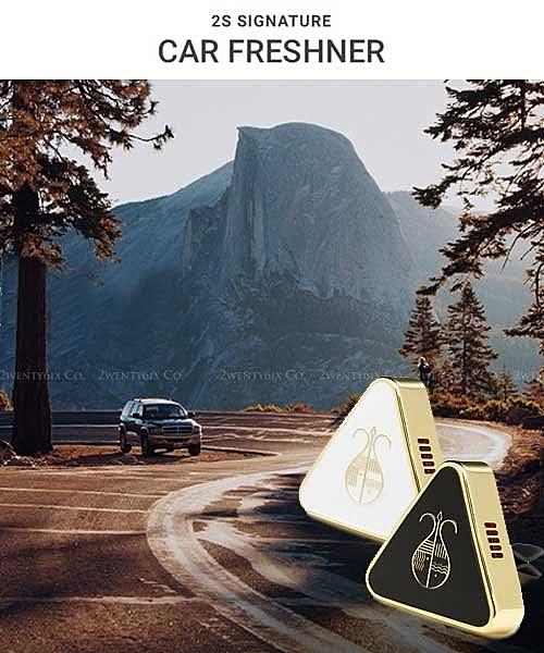 正韓 2S Signature Car Freshner 車用薰香器/錠 (高級精油) #黑白兩色
