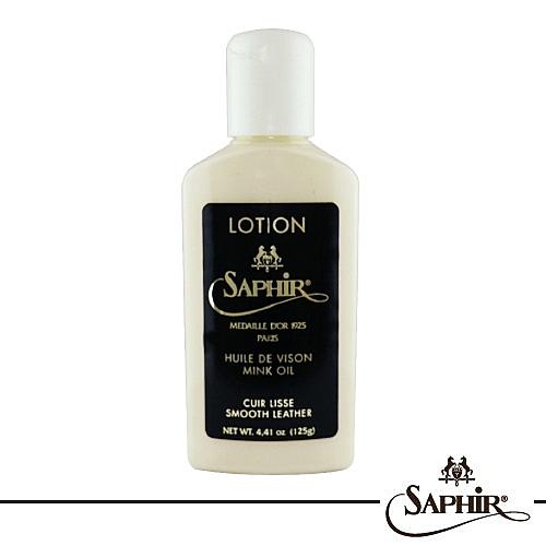 【SAPHIR莎菲爾-金質】皮革貂油保養乳-皮包清潔保養   皮靴清潔保養   皮件保養品