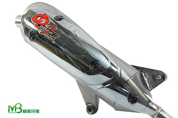 機車兄弟【GP 加速王 手工黑鈦管】(BWS125(下繞式)/(新)勁戰125(側繞式)/GT125/J-BUBU115)