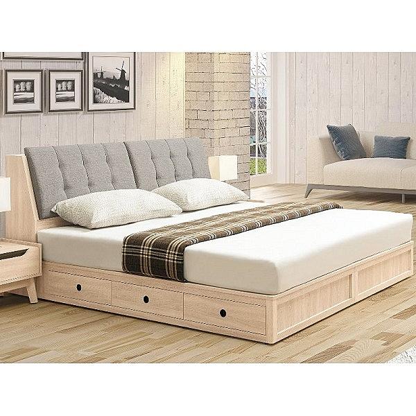 床架 TV-69-24 奧斯陸5尺六抽收納床底 (床頭+床底)(不含床墊) 【大眾家居舘】