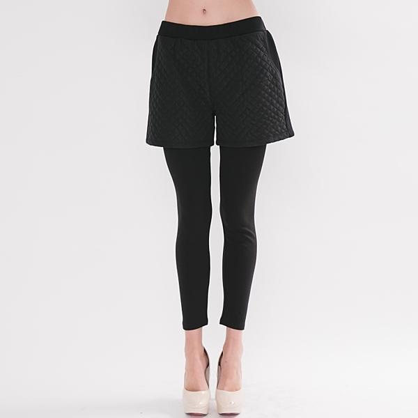 【中大尺碼】MIT風衣菱格仿二件褲