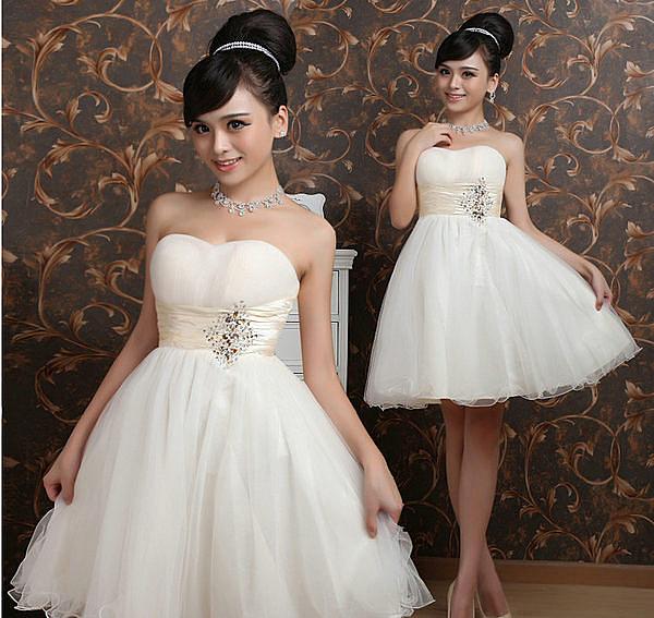 (45 Design定做款)  客製化7天到貨  /禮服 伴娘服 短款禮 /適結婚.訂婚.宴客禮服