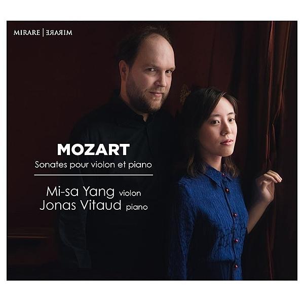 【停看聽音響唱片】【CD】莫札特:小提琴奏鳴曲集 梁美沙小提琴 約拿.維多 鋼琴
