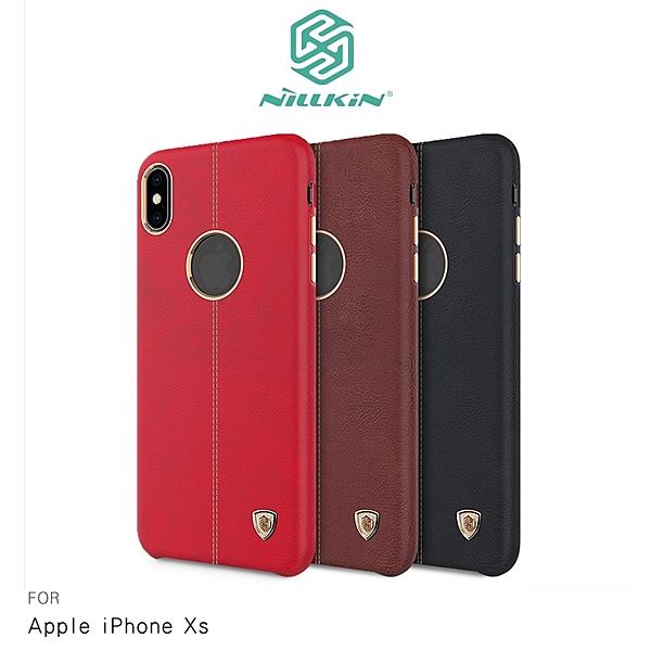 NILLKIN Apple iPhone Xs 英士保護殼 手機殼 硬殼 皮革材質 保護套