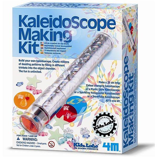 《4M科學探索》Kaleidoscope Making Kit 科學系列之萬花筒 ╭★ JOYBUS玩具百貨