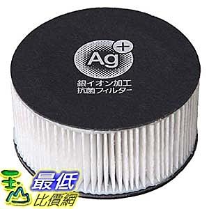 [東京直購] IRIS OHYAMA 除塵蟎機濾網 CF-FHK2 白色 銀離子抗菌 相容:KIC-FAC2(_FF3)