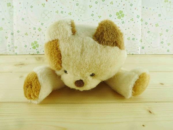【震撼精品百貨】San-X動物家族_貓咪~絨毛玩偶-咖啡(趴)