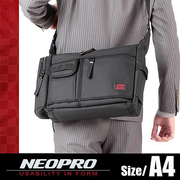 現貨配送【NEOPRO】日本機能包品牌 大型A4 船型斜背包 側背包 尼龍材質 男女推薦休閒款【2-022】