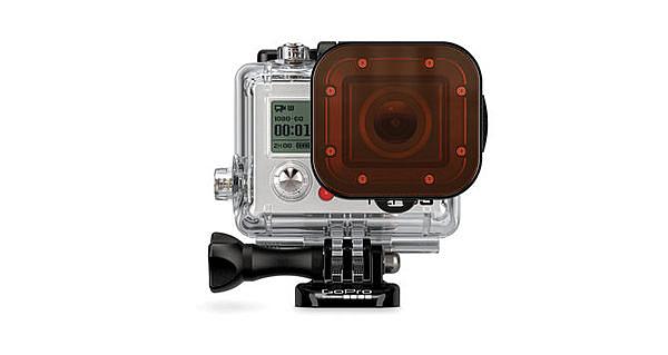 晶豪泰 分期0利率 GOPRO Red Filter 红色濾镜 (60米潛水盒適用) 公司貨 濾鏡 潛水 ADVFR-301