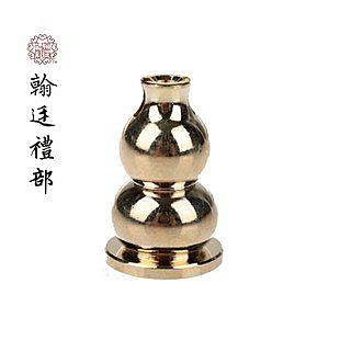 香道用具品 小葫蘆銅香夾