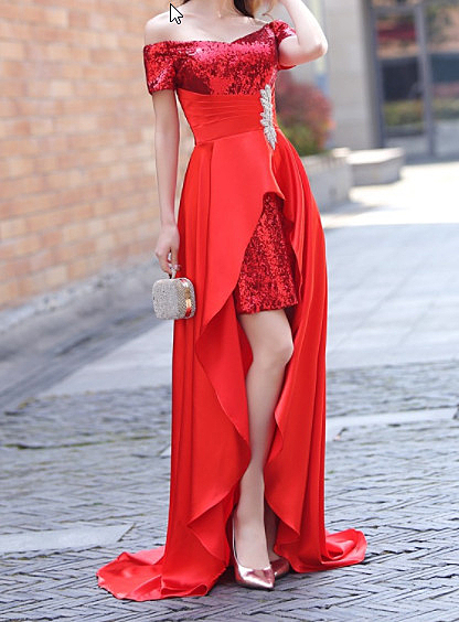 (45 Design)  訂做7天到貨 韓風婚紗禮服 晚宴 顯瘦性感晚宴結婚禮服婚紗 高級訂製長版禮服57