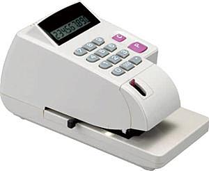 【促銷價】徠福 LC-800A 光電投射微電腦支票機(手動夾紙) / 台