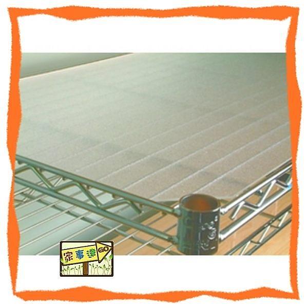 [ 家事達 ] 鍍鉻層架專用--迷霧白 PP 墊板(120*45 CM) x3入