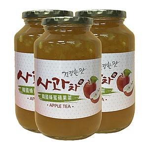 (組)韓國蜂蜜蘋果茶 3入組