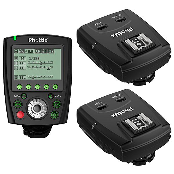 ◎相機專家◎ 免運 Phottix Odin II TTL 1對2無線閃燈觸發器 for Canon 送eneloop低自放電電池 公司貨