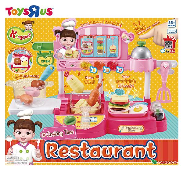 玩具反斗城 小荳娃娃美味廚房組