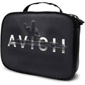 Avicii 化粧品収納ボックプロ用化粧ペンポケット メイクボックス 化粧道具入れ ジッパー付き 大容量 多機能 持ち運び便利 自宅 出張 旅行用 男女兼用
