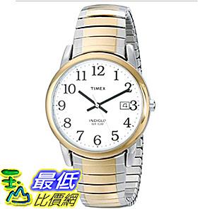 [106美國直購] 手錶 Timex T2H311 Mens Easy Reader Date Expansion Band Watch