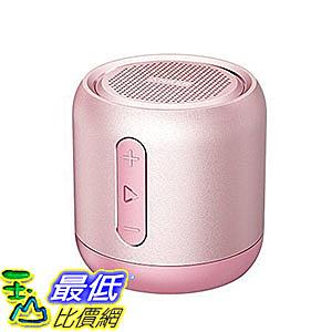 [106美國直購] Anker SoundCore AK-A3101151 玫瑰金 喇叭 mini speaker, micro SD card & FM radio compatible