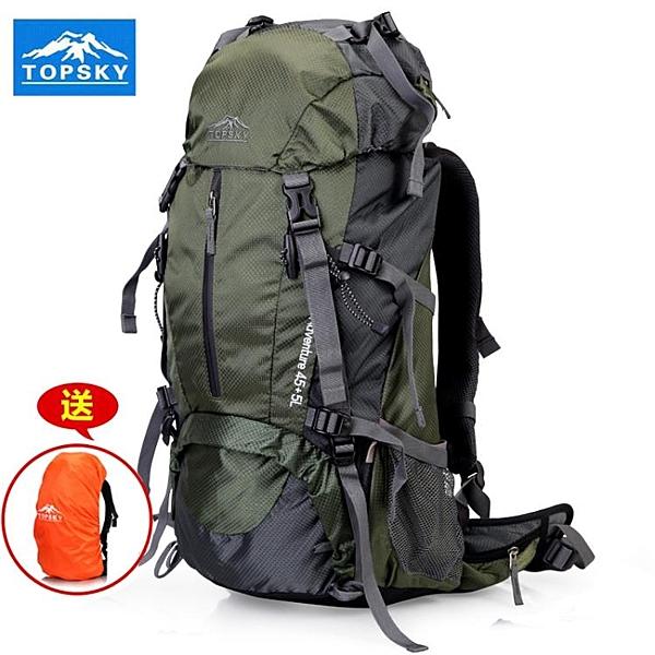 戶外登山包雙肩後背包旅行大容量防水【步行者戶外生活館】