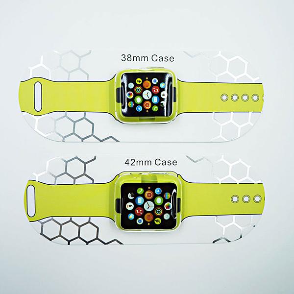 【marsfun火星樂】G-CASE Apple watch 透明軟套 高透氣 保護套 超薄 軟殼 TPU材質 38mm / 42mm