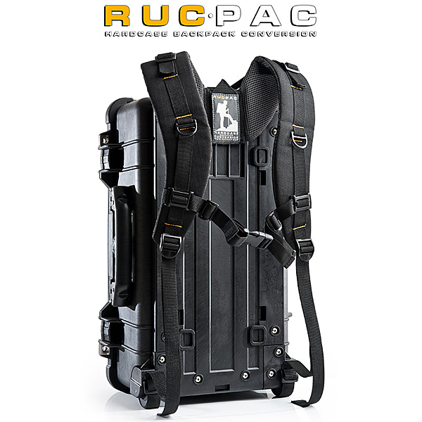 ◎相機專家◎ RucPac 雙肩背帶 for Pelican 1510 1514 iM2500 英國製 免鑽孔可直上