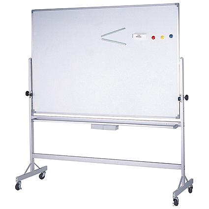 【台北以外縣市價】金益山 3X5雙面白板+鋁迴轉架90x150cm