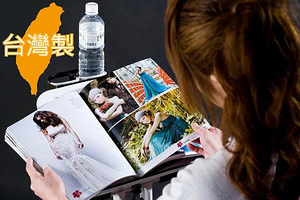 【 X-BIKE 晨昌】19804 19807 筆電看書架 全鐵白色烤漆 高質感 可放飲料~台灣精品