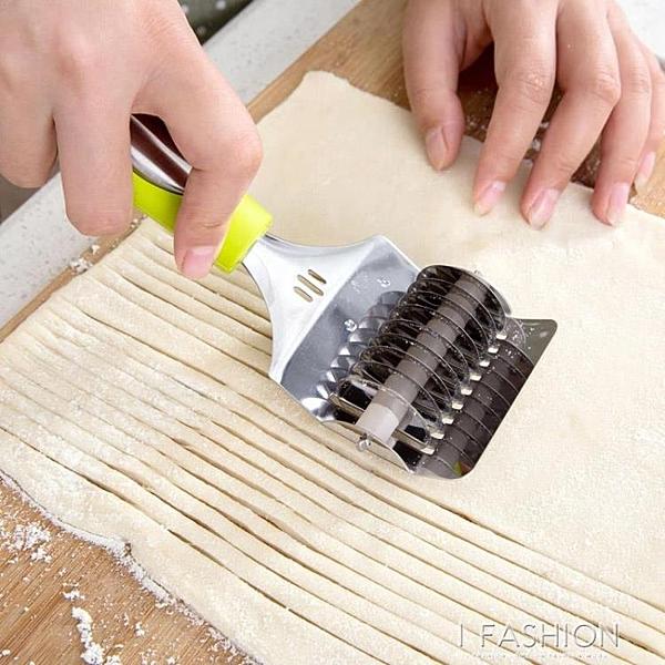 小型壓面條器手動面條機切面機 家用手工壓面機模具切面器-享家