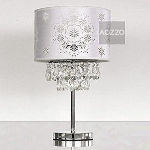 水晶檯燈臥室床頭燈現代時尚客廳燈具書房臥室燈飾