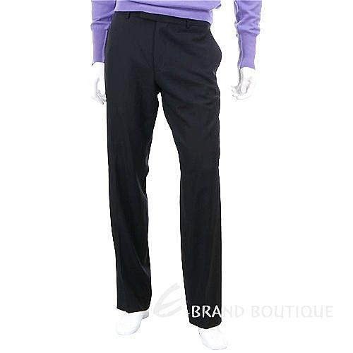 BOSS 斜織紋西裝褲(黑色) 0580032-01