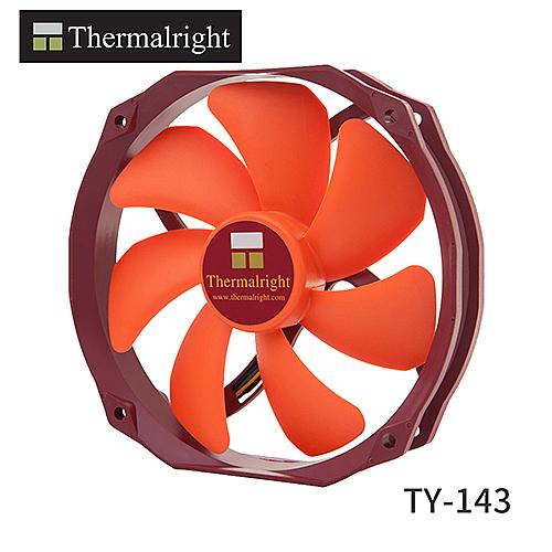 Thermalright TY-143 PWM 14公分 機殼風扇