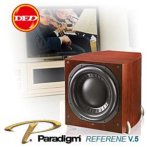 加拿大Paradigm SUB 15 Piano Black v.5 極聲美型揚聲器 黑色鋼烤 (主動式超低音喇叭)