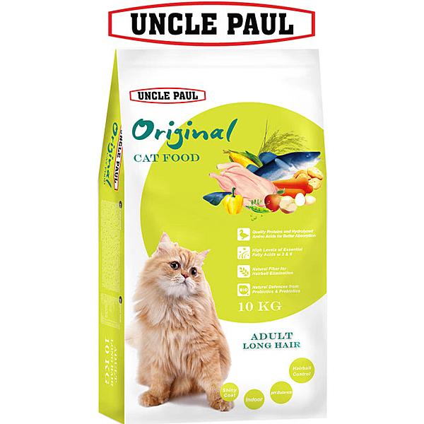【UNCLE PAUL】保羅叔叔田園生機貓食 10kg(成貓 長毛貓)