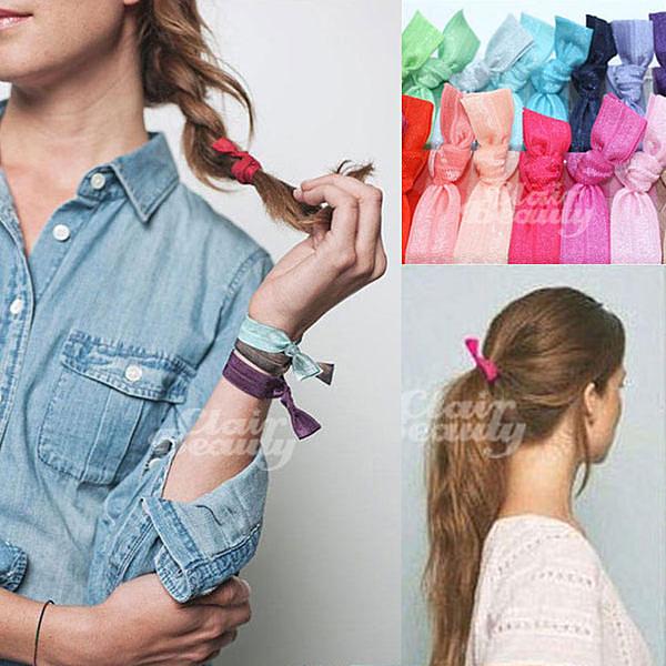髮帶 韓劇同款緞帶手環髮圈【AO2441】☆雙兒網☆01~50